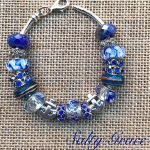 Jewelry - Anchor charm Ocean theme charm bracelet
